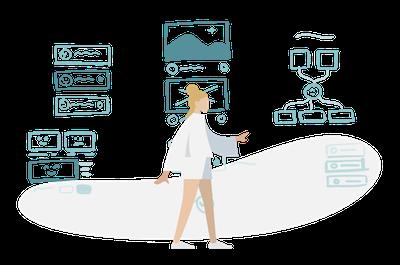 Illustration de la conception UX