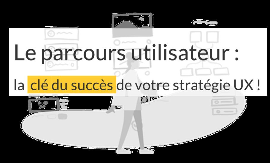Le parcours utilisateur : la clé du succès de votre stratégie UX !