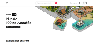 Site web Airbnb