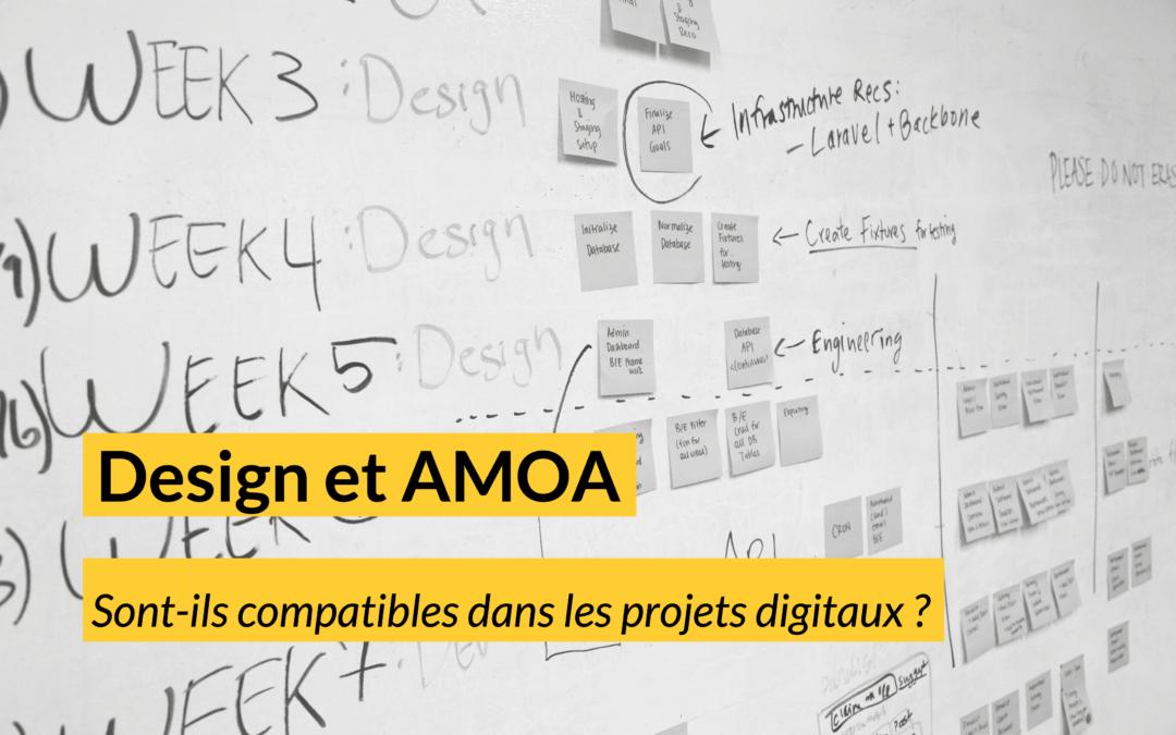 Design et AMOA sont-ils compatibles dans les projets digitaux ?