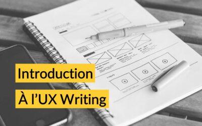 UX Writing : la stratégie de contenu