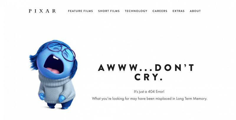 Pixar message d'erreur